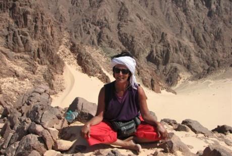 Susanne Mlasko am Sinai