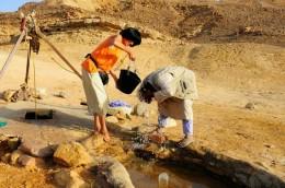 Brunnen am Sinai